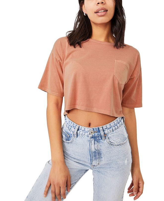 COTTON ON Women's The One Slouch Pocket T-shirt