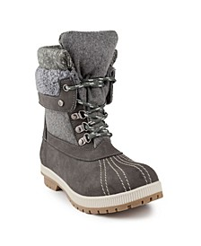 Women's Mitten Winter Mid-Calf Boot