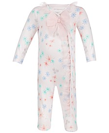 Baby Girls Floral Tulle Coveralls, Created for Macy's