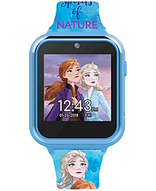 Kid's Frozen 2 Blue Silicone Strap Touchscreen Smart Watch 46x41mm
