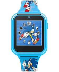 Kid's Sonic Blue Silicone Strap Smart Watch 46x41mm