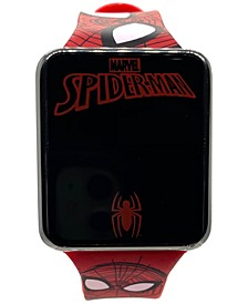 Kid's Spiderman Red Silicone Strap Touchscreen Watch 36x33mm