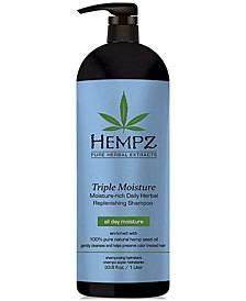 Triple Moisture Herbal Shampoo, 33-oz., from PUREBEAUTY Salon & Spa