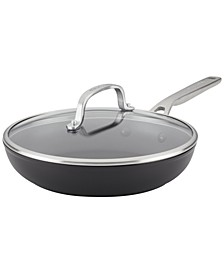 "Hard-Anodized Aluminum Nonstick 10"" Fry Pan with Lid"