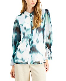 Washed-Out Button-Down Shirt, Created for Macy's