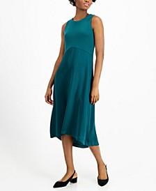 Mixed-Media Midi Dress, Created for Macy's