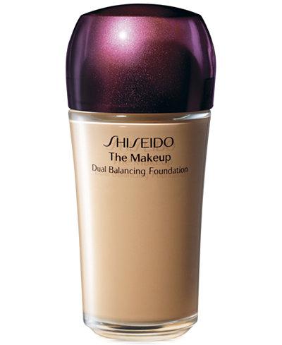 Shiseido The Makeup Dual Balancing Foundation, 1 fl. oz.