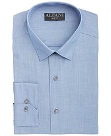 Men's Slim-Fit Hairline Stripe Dress Shirt, Created for Macy's