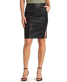 Vivian Coated Pencil Skirt