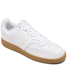 Men's Nike Court Vision Low Casual Sneakers from Finish Line