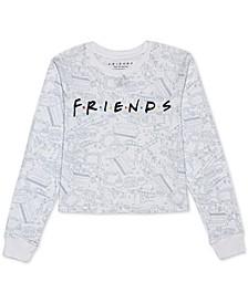 Juniors' Friends Long Sleeve Graphic T-Shirt