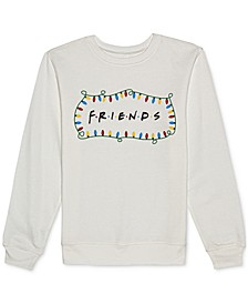 Juniors' Friends Holiday Crewneck Sweatshirt