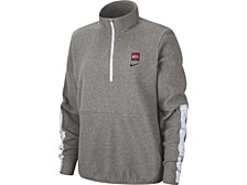 Women's Ohio State Buckeyes Therma Fleece Half-Zip Pullover