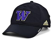 Washington Huskies Coaches Sideline Adjustable Cap