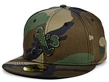Oakland Athletics Woodland Pop 59FIFTY Cap