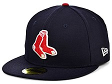 Boston Red Sox 100th Patch 59FIFTY Cap