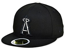 Men's Los Angeles Angels Color Fade 59FIFTY Cap