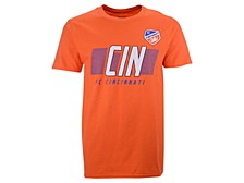 Authentic MLS Apparel FC Cincinnati Men's Iconic Cotton Speed Slant T-Shirt