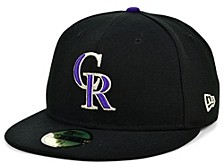 Colorado Rockies 2020 Jackie Robinson 59FIFTY Cap
