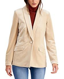 INC Velvet Blazer, Created for Macy's