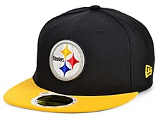 Youth Pittsburgh Steelers 2 Tone 59FIFTY Cap
