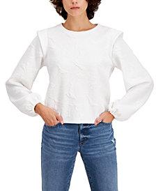 INC Jacquard Sweatshirt, Created for Macy's