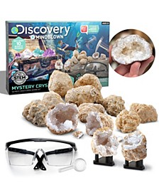 Discovery Mindblown Toy Mystery Crystals Geode Excavation Kit 14pc