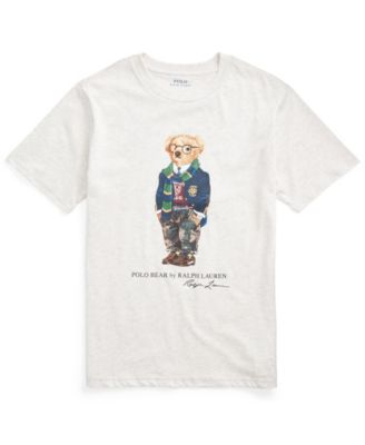 Big Boys Rugby Bear Jersey T-shirts