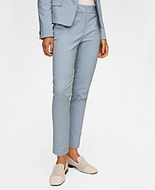 Women's Suit Slim-Fit Pants