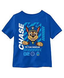 Toddler Boys Chase To The Rescue Short Sleeve Tee