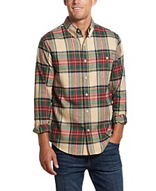 Men's Tartan Plaid Flannel Shirt