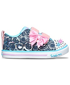 Toddler Girl's Twinkle Toes Sparkle Lite - Hearts Stay-Put Closure Casual Sneakers from Finish Line
