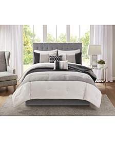 Hudson 9-Pc. King Comforter Set
