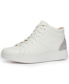 Women's Rally Glitter High-Top Sneakers