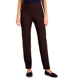Pull-On Ponté-Knit Pants, Created for Macy's