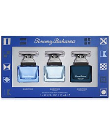 Men's 3-Pc. Maritime Gift Set