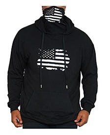 Men's Face Mask Pullover Hoodie