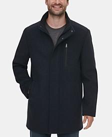 Men's Long Open Bottom Overcoat, Created for Macy's