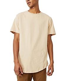 Men's Essential Longline Scoop T-shirt