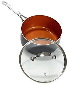 3-Qt. Nonstick Saucepan with Lid