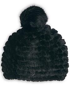 Faux Fur Weave Hat