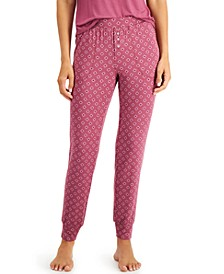 Women's Essential Pajama Jogger Pants, Created for Macy's