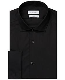 Men's Slim-Fit French Cuff Dress Shirt