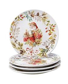 Christmas Story 4 Piece Dinner Plate