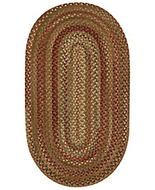 Homecoming Oval Braid 2' x 3' Area Rug