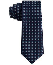 Men's Slim Square Neat Silk Tie