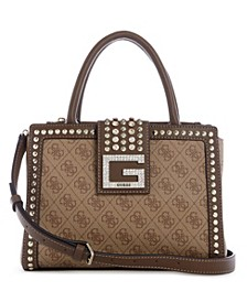 Logo Bling Society Signature Satchel