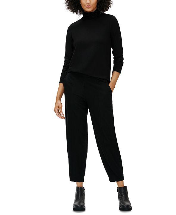 Eileen Fisher Wool Ankle-Length Lantern Pants