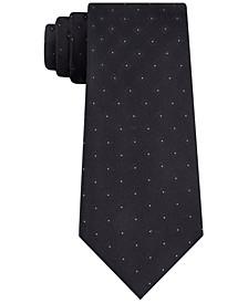 Men's Slim Square Dot Tie