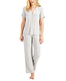 Short-Sleeve Pajama Set, Created for Macy's